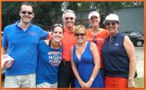 Lot 1 at the 2010 Orange and Blue Game